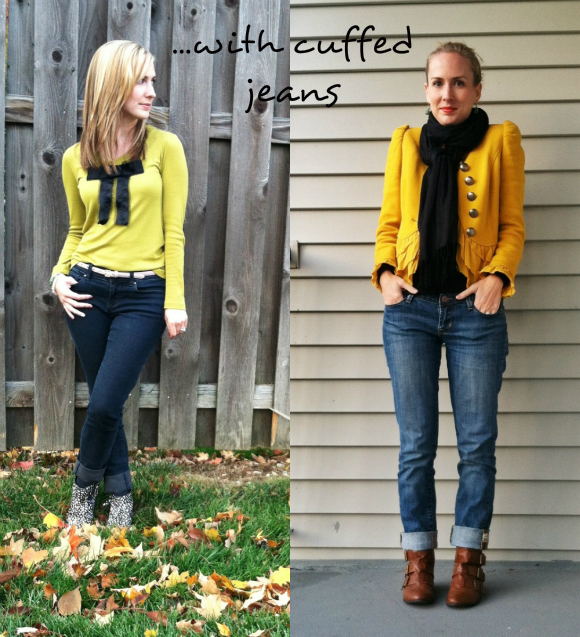 how to make legs look longer in skinny jeans