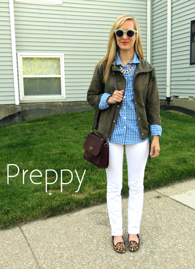 how to wear a utility jacket, how to wear an army jacket, preppy utility jacket