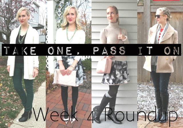 take one pass it on, wardrobe remix challenge, blogger challenge, how to remix your wardrobe