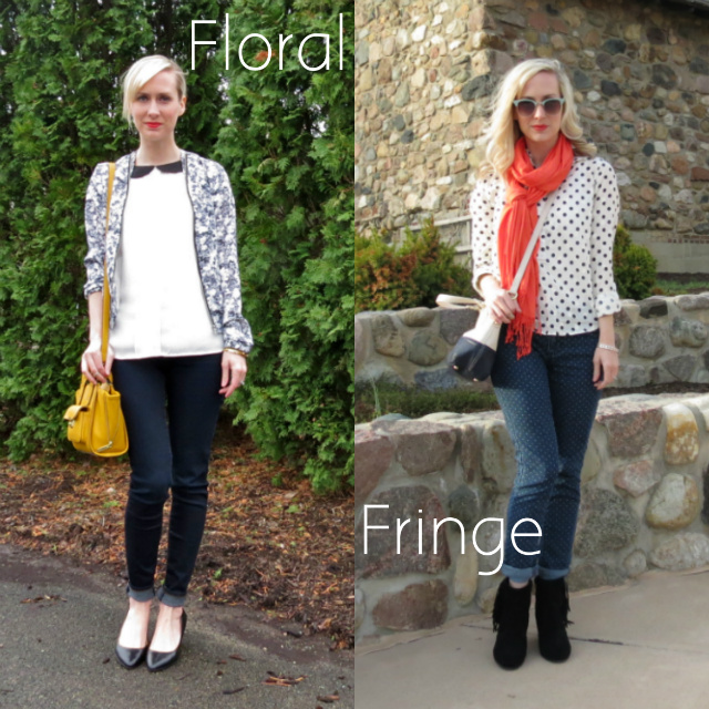 wardrobe challenge, style challenge, spring 2014 trends, lucky b boutique, indianapolis style blog