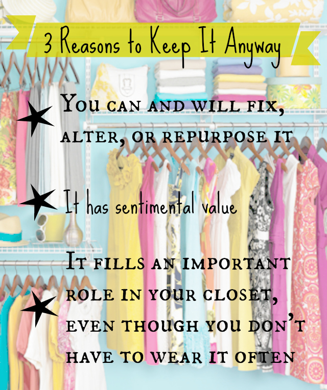 clean out your closet, closet purge, what clothes to get rid of, what clothes to keep